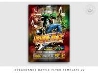 BreakDance Battle Flyer Template V2