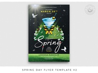 Spring Day Flyer Template V2