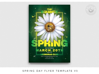 Spring Day Flyer Template V3