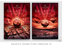 Galactic Sound Flyer Template V3