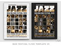 Jazz Festival Flyer Template V9