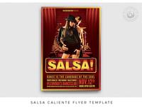 Salsa Caliente Flyer Template