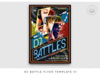 Dj Battle Flyer Template V1