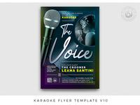 Karaoke Flyer Template V10