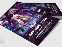 04 urban ladies night flyer template