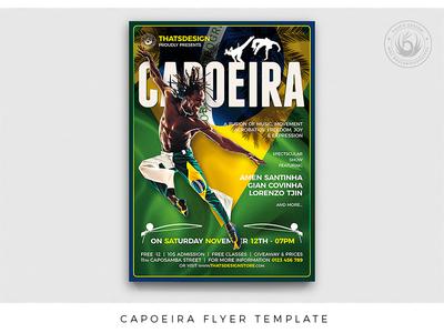 Capoeira Flyer Template