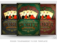 Poker Tournament Flyer Template