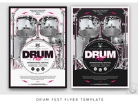 Drum Fest Flyer Template