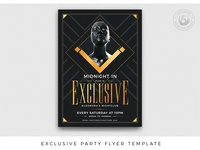 Exclusive Party Flyer Template