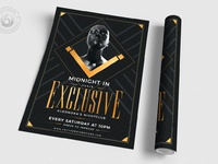 03 exclusive party flyer template