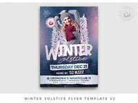 Winter Solstice Flyer Template V2