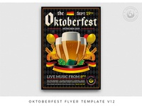 Oktoberfest Flyer Template V12