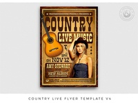 Country Live Flyer Template V4
