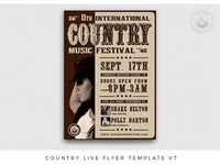 Country Live Flyer Template V7