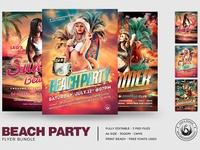 Beach Party Flyer Bundle V1