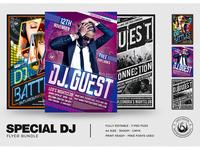 Special DJ Flyer Bundle V1