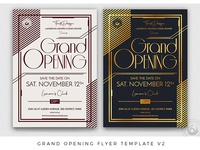 Grand Opening Flyer Template V2
