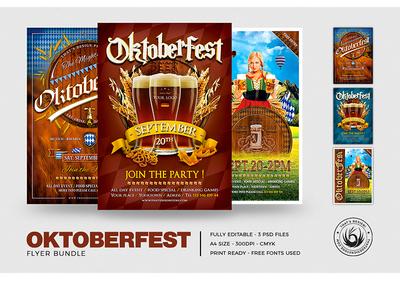 Oktoberfest Flyer Bundle V1