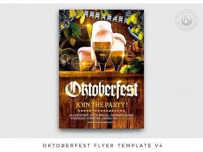 Oktoberfest Flyer Template V4