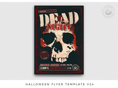 Halloween Flyer Template V24