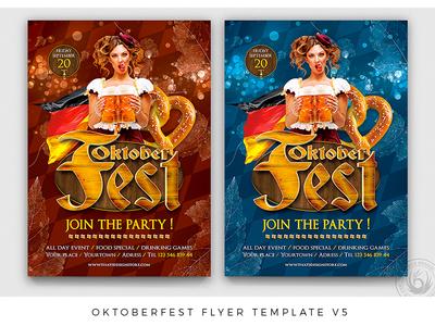 Oktoberfest Flyer Template V5