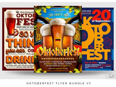 Oktoberfest Flyer Bundle V3