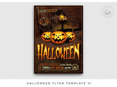Halloween Flyer Template V1