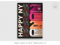 New Year Flyer Template V3