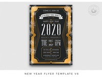 New Year Flyer Template V8