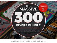 Massive 300 Flyers Bundle Vol.2