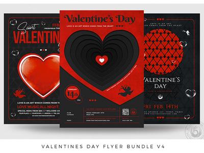 Valentines Day Flyer Bundle V4