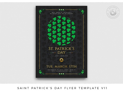 Saint Patricks Day Flyer Template V11