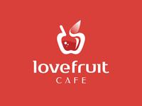Love Fruit Cafe - Logo design