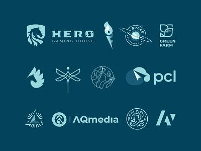 Logos & Marks 2021 simple modern creative graphic design design animal logo mark branding symbol logo design portfolio logofolio logo
