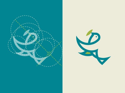 Bird logo and golden ratio tutorial logo for sale purchase logo monogram logo design golen ratio bird logo animal bird dainogo tutorial youtube logo
