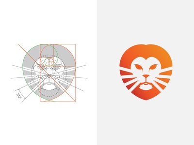 Lion Logo & Golden Ratio