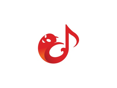 Ghost and music note logo creaitve logo for sale purchase logo nagative space logo design musical music note g dainogo music logo symbol ghost