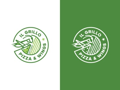 IL Grillo Pizza & Wings Logo