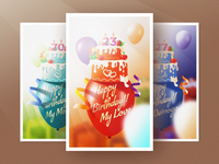 Happy Birthday Card + Video tutorial