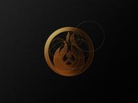 Bear + Fire logo & grids