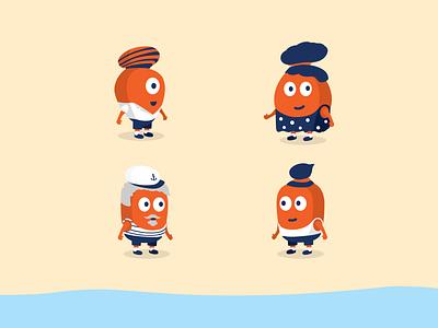 Photagon Character Design character animation design illustration playful