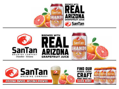 Billboard + Programmatic | Grapefruit Shandy