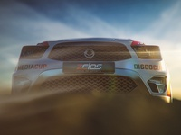 Rally Car Octane 3 Outdoor Render