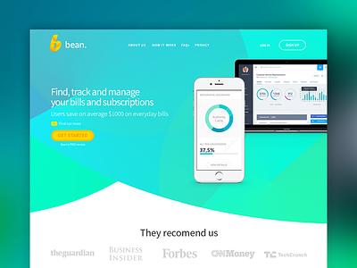 Homepage Design - Hero Section hero image curves degrade homepage