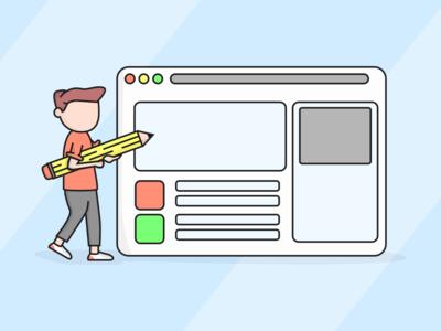 Site Builder Illustration
