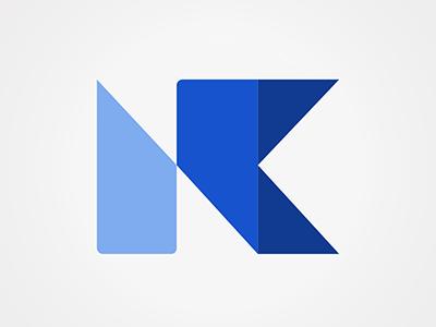 NK identity brand logo