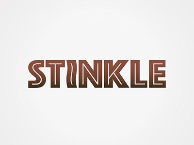 Stinkle identity brand logo