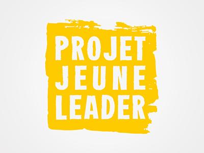 Projet Jeune Leader identity brand logo