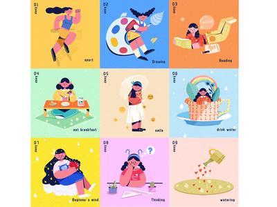 Keep series illustration