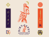 Dirt Gypsy Adventures branding package